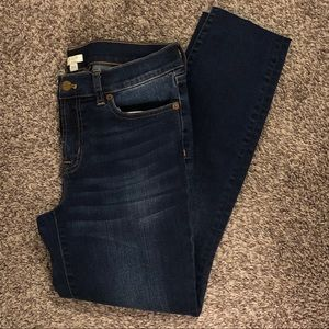 J.Crew cropped denim
